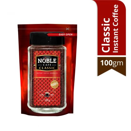 Noble Classic Instant Coffee 100 gm Pouch Pack