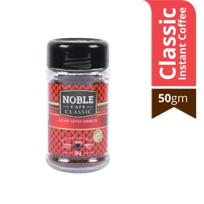 Noble Classic Instant Coffee 50 gm Jar