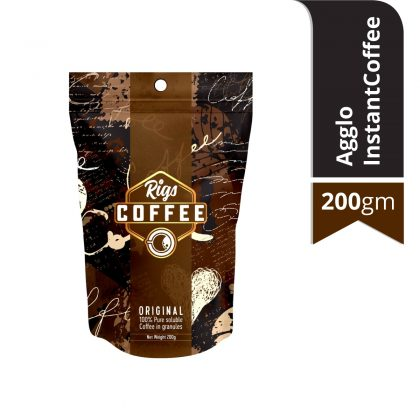 Rigs Agglo Instant Coffee 200 gm Pouch Pack